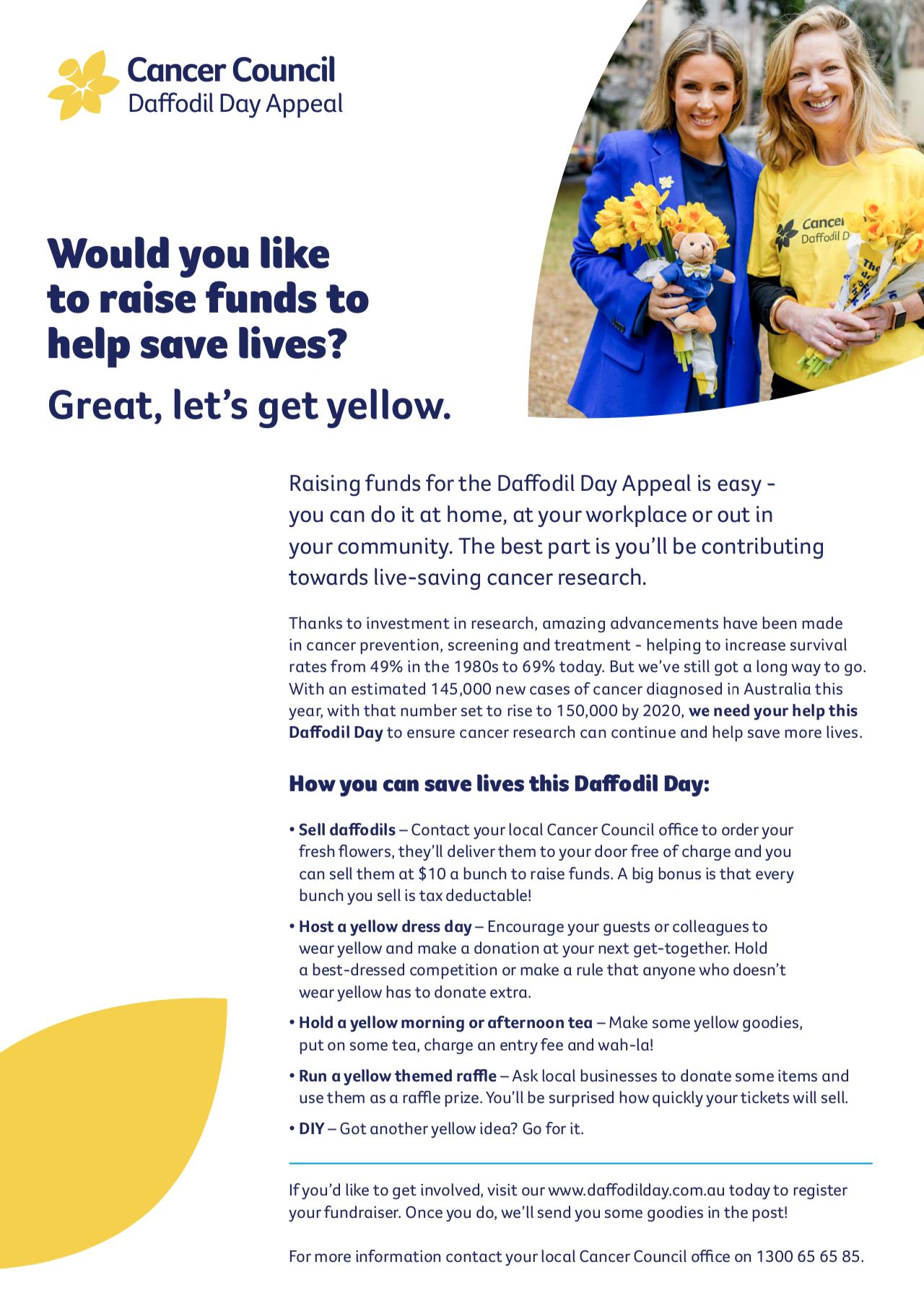 Yellow Fundraising Ideas