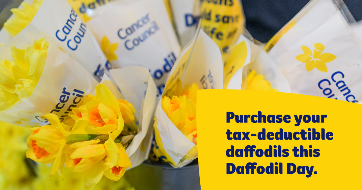Purchase daffodils Facebook image