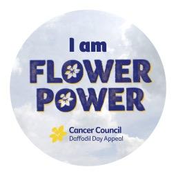 I Am Flower Power Sticker