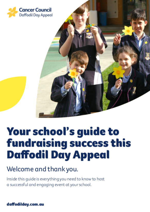 School Fundraiser Booklet