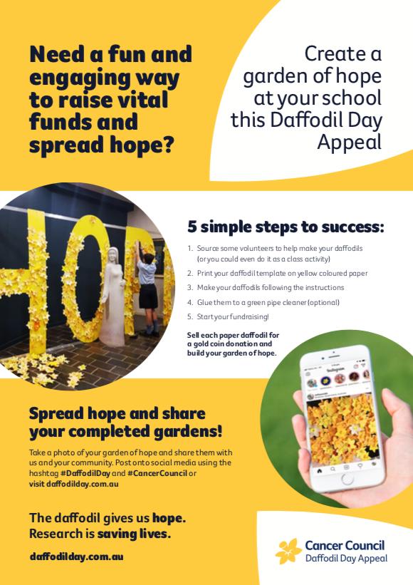 "School ""Field of Hope"" Fundraising resource"