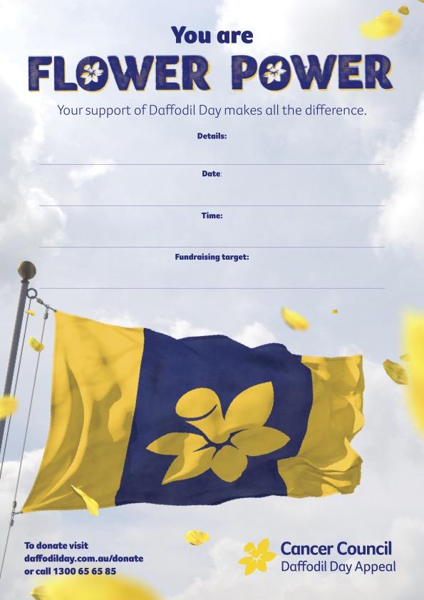 Flower Power Event Poster