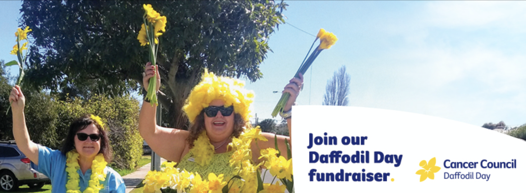 Join our fundraiser Facebook Cover - Large