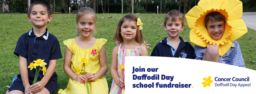 Join our school fundraiser Facebook Cover - Large