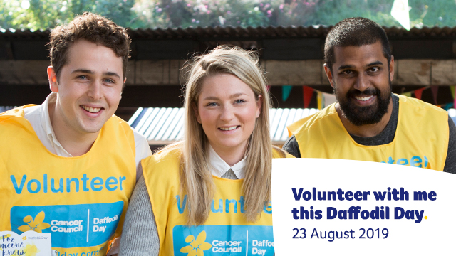 Volunteer with me Facebook Cover - Mobile