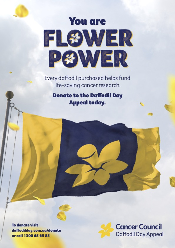 Flower Power Campaign Poster