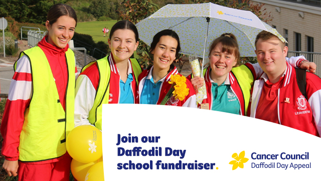 Join our school fundraiser Facebook Cover - Mobile